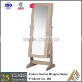 full length jewelry cabinet with mirror for wholesale