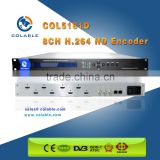 Digital hd Encoder 8 in 1 with h.264 & aac video audio compression COL5181D