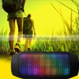 2016 best horn speaker , Fasion bluetooth speaker with flashing light , Good music speaker bluetooth for the parting.