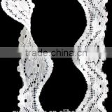 white crochet lace trim nylon lace trim for apparel