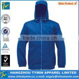 men waterproof foldable packaway lightweight rain windbreaker jacket