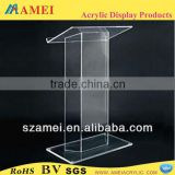 clear acrylic speech podium, acrylic pulpit