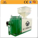 temperature control biomass burner