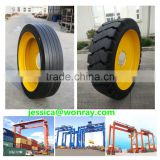 sany Rubber Tyre Container Gantry Crane use spare parts solid tire wheels