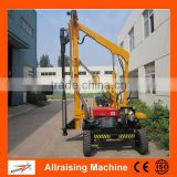 Highway Guardrail Hydraulic Pile Driving Machine