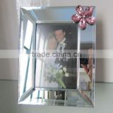 4x6' high grade frame picture new design bevel mirror photo frame top sale custom glass photo frame