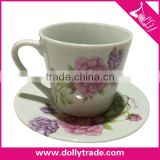 Cheap Fine Bone China Cup and Saucer, Coffee Cup and Saucer/ Tea Cup and Saucer Wholesale