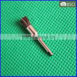 Curve Handpiece Pencil Brush,Latch Style Flat Dental Prophy Brush,Horse Hair styling Brush