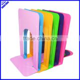 "High quality colored 9"" desktop metal bookend"