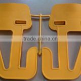 HDPE BALLAST PLASTIC TRAY AND BRACKET