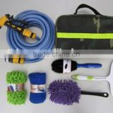 7pcs/set house care cleaning car washing wheel brush set with 10m hose and sprayer gun