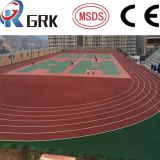 Factory Direct! Acrylic coating, SPU flooring and PU athletic tracks material CE/SGS/ITF certificated