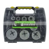 CF6406 9 pieces bi-metal concrete hole saw kit