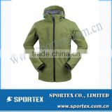 Wholesale Active Sportswear Yollow Waterproof Softshell Jacket MZ0072