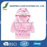 Kids Little Girls Hooded Pajamas Cartoon Animal Bath Robes