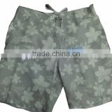 Mens all over print beach shorts