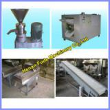 Hot selling Simpled designed peanut butter processing line 100kg/h, peanut butter making machine