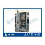 Standard Industrial Outdoor Telecom Cabinet , Outdoor Electrical Cabinet With Rectifier System