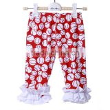 2016 Latest Design Baby Girl Cotton Trousers Soft Baby Girls red Color Harem Pants