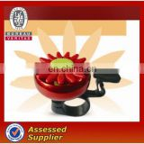 Sun flower design bicycle ring bell. hot wholesale bike ring bell