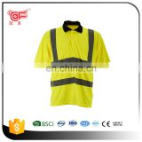 Cheap reflective t-shirt on road safety for wholesale KF-139
