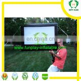 HI inflatable movie screen front rear projection inflatable projection screen outdoor event film screen