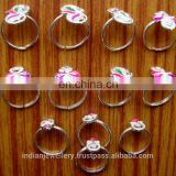 Body leg jewelry toe rings manufacturer, Indian jewellery toe ring exporter