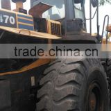WA470 wheel loader used condition WA470 5t wheel loader second hand wheel moving type WA470 wheel loader for sale