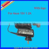 15V 1.2A Netbook Ac Adapter 18w Power Supply Charger for ASUS EEE PAD TF101-X1 TF201 TF300TG TF700T + Plug ADP-40TH
