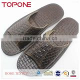 2014 New Design Cheap Wholesale Men Leather Sandals And Slippers