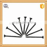 bugle head black phosphated drywall screw / coarse thread drywall screw