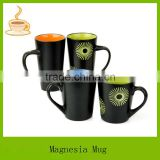 ceramic coffee and beer mugs 8oz with hand printing                                                                         Quality Choice
