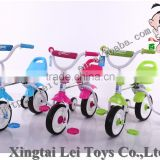 tricycle bike with trianing wheels, 4 wheels foot power bike for chid hot hot hot sale, adjustable seat frame