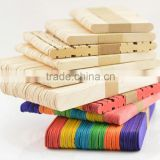 Indoor room company handwork baby playing icecream wooden sticks toys