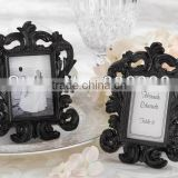 European style Black Baroque Photo Frame Placecard Holder Party supplies wedding favors