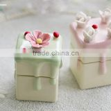 AN476 ANPHY Ceramic Flower Cake Jewelry Decoration Holder Stand Display Stock