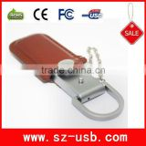 portable leather external hard drive with original chip