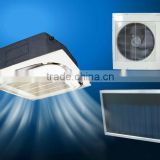 Hot sales ceiling type hybrid solar air conditioner, solar powered air conditioners, solar AC for home using
