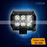 auto accessories square 4 inch 18W led light bars for trucks
