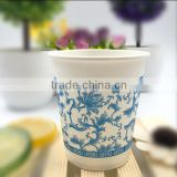 paper cups Disposable custom made company logo diary printing double wall custom printed paper coffee cups
