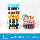 BPA Free Food Grade Silicone Teething Bracelet For Baby Chewable And Mum Beautiful