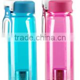 Travel Pot Elegant Filter Tea Cup Water Bottle Outside Sport Water Pc/tritan Bottle Pot Include Cup straw and lid water cup