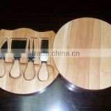 5 pcs cheese tools set / cheese board set / cheese knife with board