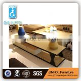 Modern Design Gloss Beige Glass TV Stand Table with MDF Drawer Living Room Furnitures TV339