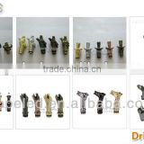 new 8 styles stock drip tips 510 brass copper for vape pen ego
