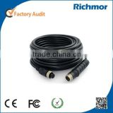 Richmor 3/5/10Meter Aviation Plug Extension Cable for Mobile DVR & Camera used on Bus/Truck