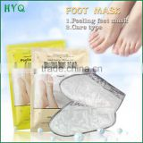 Remove Dead Skin Cuticle Heel Pedicure Socks foot peeling mask+care type skin Exfoliating whitening foot mask