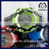 fashion abs plastic case watch digital electronic-abs pvc strap digital watch for boys