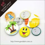 Hot selling user-friendly hand embroidered badge / eco-friendly smiley face badges / girls' favor printing badge