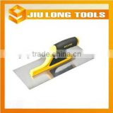 Hardware hand tools concrete hand mirror polished plastering trowel with ABS plastichandle